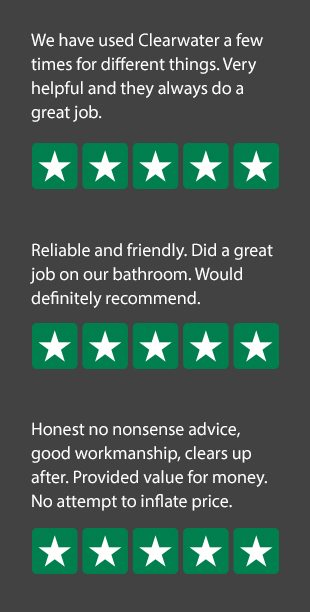 Trustpilot information for Clearwater Plumbing & Heating Ltd